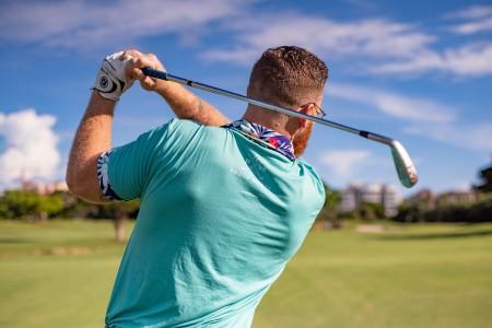 tal till golfaren